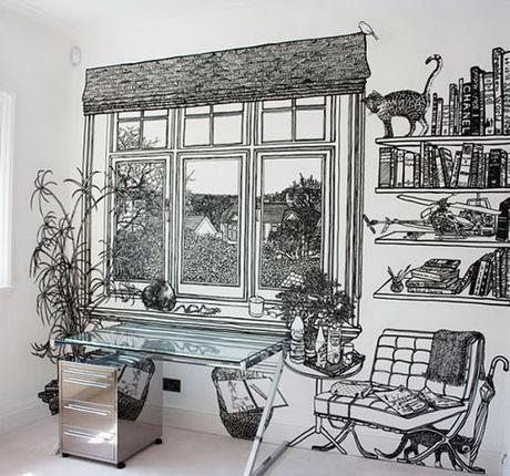 come-decorare-pareti-di-casa-con-stickers
