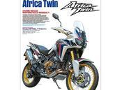 Honda 1000L Africa Twin 2016 Tamiya