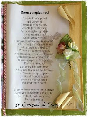 Regalo Compleanno Mamma 80 Anni.Un Compleanno Speciale 80 Anni Della Mia Mamma Paperblog