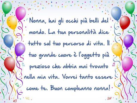 Favorito Frasi di Auguri di Buon Compleanno Nonna - Paperblog HN23