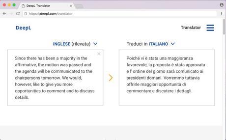 deepl traduttore desktop italiano