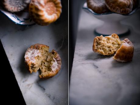 Piccina torta di mele al grano saraceno. Uno psicotico jamais vu gluten free.