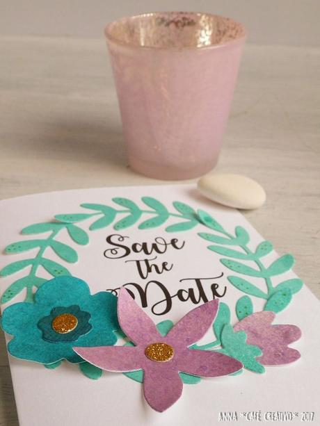 [#Sizzix Big Shot] Matrimonio fai da te: Invito Save the date