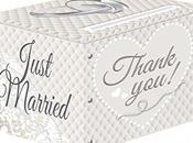 Scatola confezione regalo matrimonio