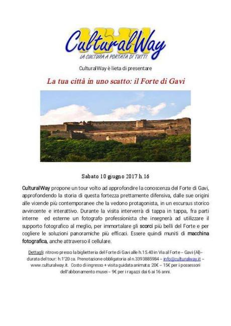 La tua città in uno scatto: il Forte di Gavi