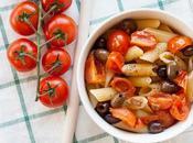Pasta olive pomodorini acciughe