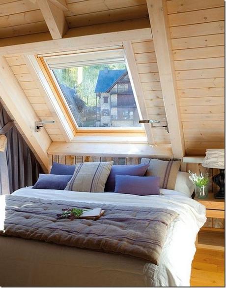 Se la camera da letto è in mansarda - Paperblog