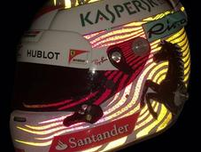 Arai GP-6 S.Vettel Singapore 2017 Jens Munser Designs
