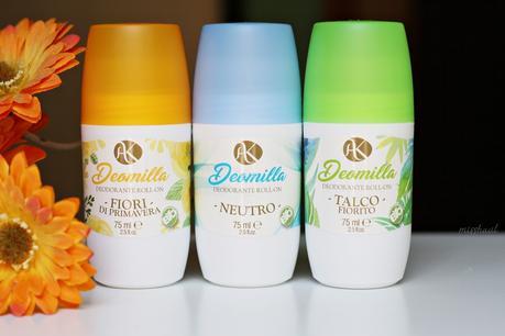 {Deodorante BIO che funziona} Deomilla Spray e Roll-on | Alkemilla
