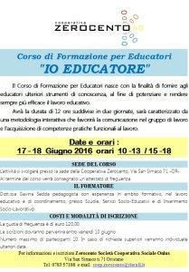 Corso per Educatori ad Oristano