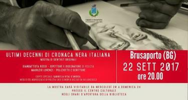 """Presentazione di """"Identikit il disegnatore di incubi"""" a Brusaporto (BG)"""