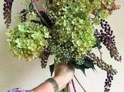 #fioridivenerdì- bouquet d'autunno ortensie fitolacca