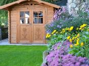 Casette legno giardino, utili graziose