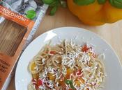Spaghetti Peperoni ricotta salata: ultimi prodotti stagione