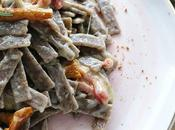 Pizzoccheri finferli speck