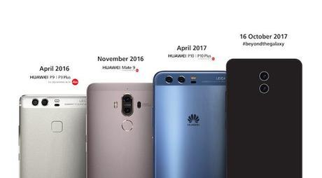 Svelato Huawei Mate 10, design, caratteristiche e probabili prezzi.