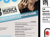 """ottobre 2017 Conferenza Stampa """"Musica contro mafie"""" Edizione Mercato Centrale"""