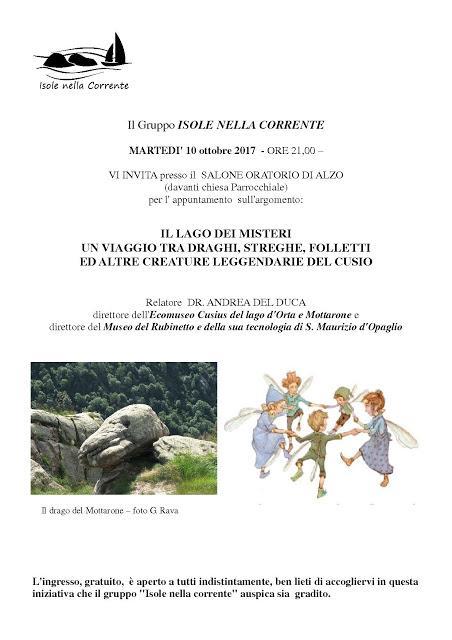 Viaggio tra draghi, streghe, folletti e altre creature leggendarie del Cusio