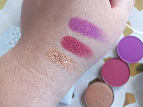 Colourpop PRESSED EYESHADOW review
