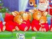 Schemi punto croce: Babbo Natale coniglietti