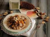 Gnocchi patate farina castagne funghi porcini zucca