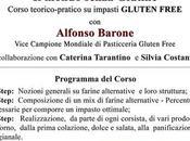 Alfonso Barone corso gluten free