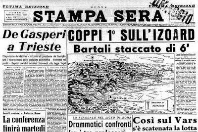 Un uomo solo al comando, il suo nome è Fausto Coppi