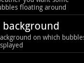 Notification Bubble, live wallpaper notifiche nelle bolle Android
