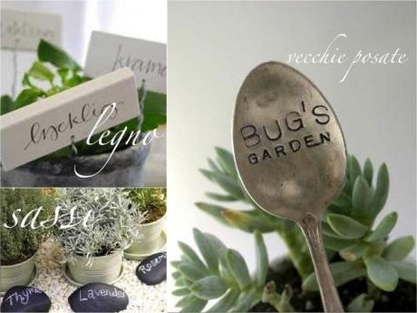 etichette e cartellini per piante paperblog