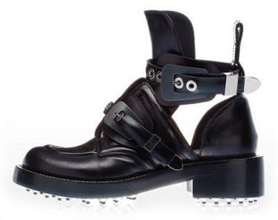 Balenciaga Cut Out Boots