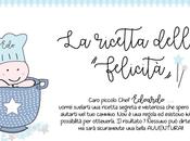 STAMPE NASCITA: ricetta della felicità piccolo chef Edoardo!