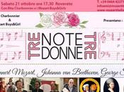 """Tre note, donne"" Rovereto, Casa Mozart"