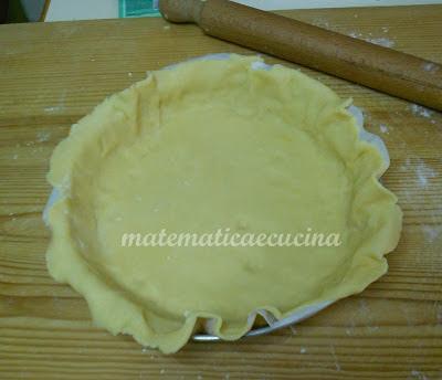 Torta Pasticciotto Napoletano- Torta di Pasta frolla ripiena di crema e amarene