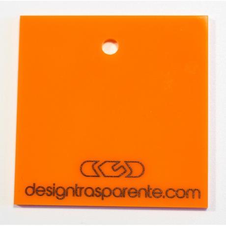 Plexiglass colorato coprente spessore 3mm : lastra colore arancione