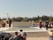 Commemorazione ieri Alamein (Egitto)