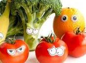 Frutta verdura occhi