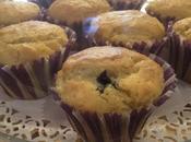 Muffin alle mandorle arancia cuore fondente