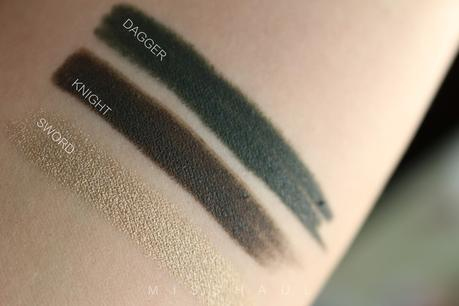 NEVE COSMETICS | Neogothic Collection - Swatch e Analisi Armocromatica