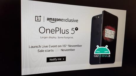 OnePlus 5T sarà presentato il 16 novembre...fino alla prossima smentita!