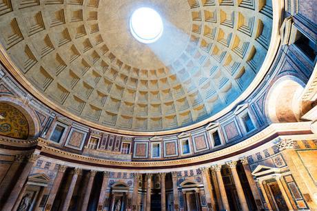 cupola a cassettoni pantheon