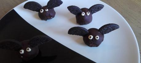 Pipistrelli dolci di Halloween senza glutine