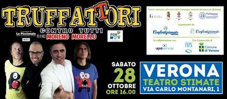 Truffattori contro tutti a Verona