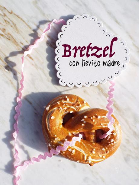Bretzel con lievito madre