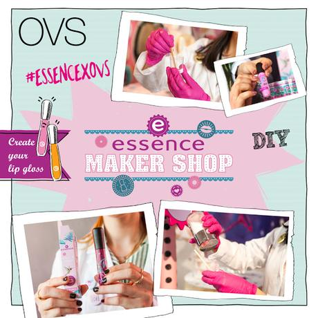 Essence makershop in OVS! Create your own lipgloss.