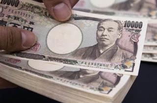 Effetti finanziari delle politiche espansive: in Giappone un milione di milairdi di Yen in fuga