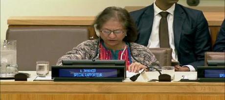 """Inviata speciale dell'ONU Jahangir denuncia: """"Deteriorato lo stato diritti umani in Iran"""""""