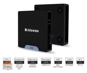 [Codice Sconto] Alfawise X5 Mini PC 2/32 Gb a 59€ Spedizione e Dogana Incluse