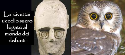 Archeologia. La civetta: l'iconografia svela un profondo significato simbolico legato al mondo dei defunti. Riflessioni di Giorgia Soncin