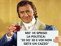 Mettere il Voto di fiducia è un pò fare come diceva il marchese del Grillo.