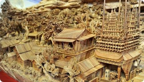Zheng Chunhui's stunning wood sculpture-2